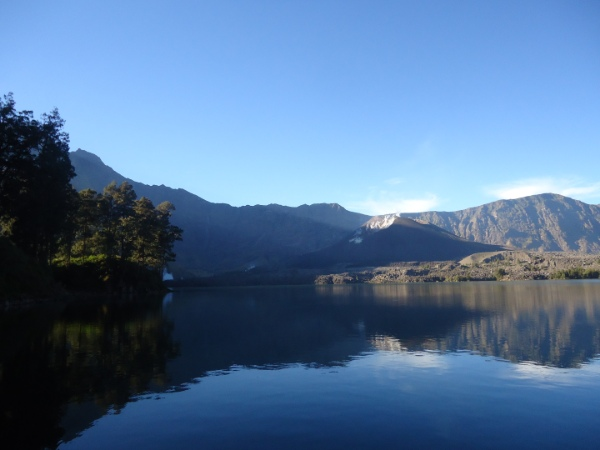 What to see while trekking rinjani