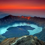 Exploring rinjani crater lake