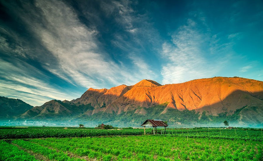 Rinjani trek package for experienced hiker