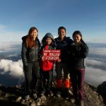 Rinjani climb for experienced hiker to summit
