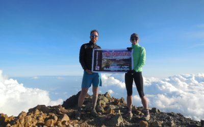 Besteigung des Rinjani Gipfels