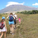 Trekking Rinjani with children