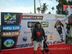 Rinjani Guide and porter